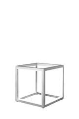 Cubed Grey Medium Table Lamp
