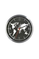 Earth Black Clock