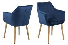 Skive Dining Chair Dark Blue