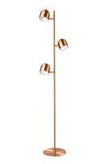 Dice Triple Floor Lamp Copper