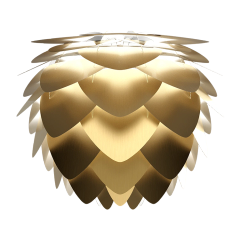 Aluvia Shade Medium Brushed Brass