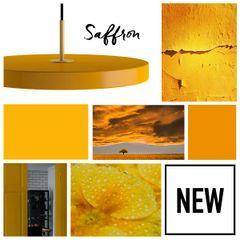 Asteria Saffron Pendant Lamp