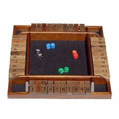 Shut the Box 4-Player Game