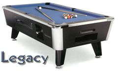 LEGACY Coin-Operated Commercial Table by Canada Billiard