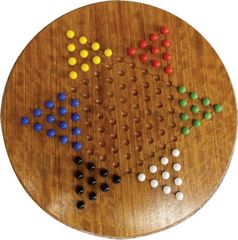 Chinese Checkers in Exotic Hardwoods