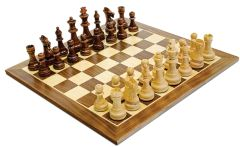 Traditional Staunton Wood Chess Set
