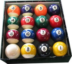Economy Pool Ball Set
