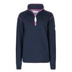 Lazy Jacks 1/4 Zip Sweatshirt LJ3 Marine