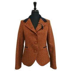 Jack Murphy Melody 2 Tweed Jacket Burnt Orange