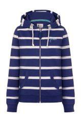 Lazy Jacks Hooded Full Zip Stripe Sweatshirt LJ93 Harbour