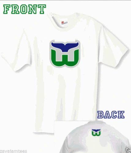Hartford Whalers vintage hockey t-shirt  cad879367