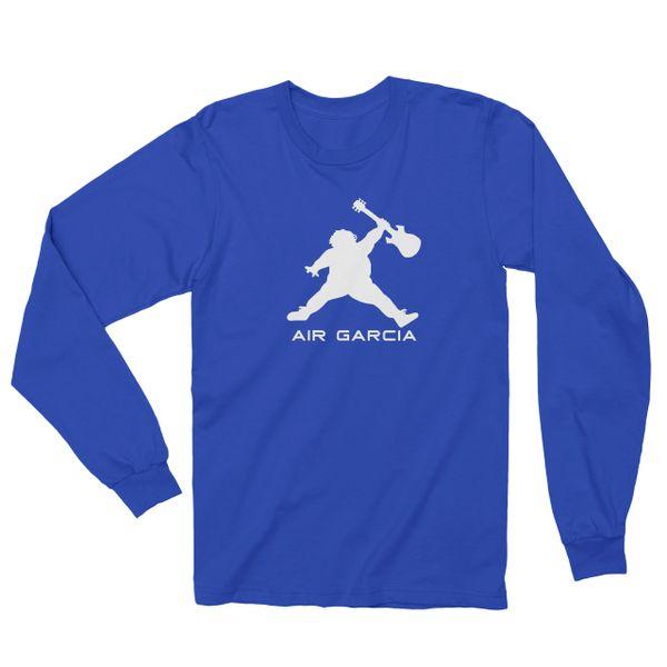 25aad573 Jerry Garcia T Shirt Air Garcia Long Sleeve Screen Print Zavajam