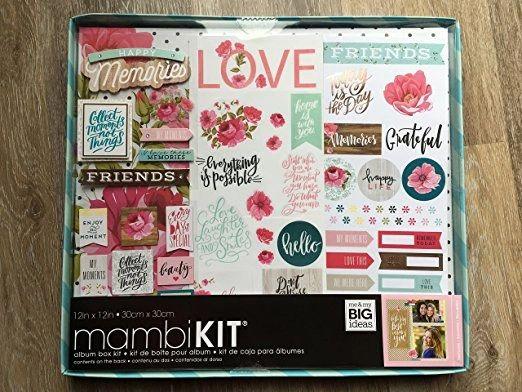 Mambi Kit Album Box Kit 12 X 12 Southern Charm Nature To Body