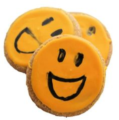 Peanut Butter Smiley Treat