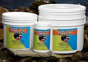 Clear Pond QuickFix For Ponds and Water Gardens