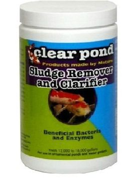 Clear-Pond Dry Formula Sludge Remover & Clarifier