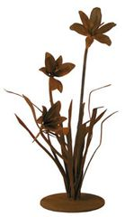 Small Lily Garden Sculpture