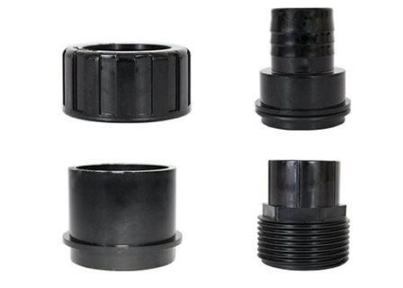 Pondmaster Replacement Inlet/Outlet fittings for Clearguard 2.7, 5.5, 8 & 16 filters.