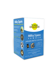 St Gabriels Organics Milky Spore Powder Japanese Beetle Grub Control