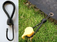 Tie Down/Anchor Accessories for Netting
