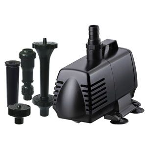 HWG 600 GPH PUMP & FOUNTAIN KIT SKU: 82435 HWG2435