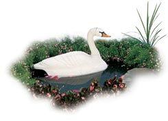 Flambeau Ornaments Floating Swan 5889LO FLA5889