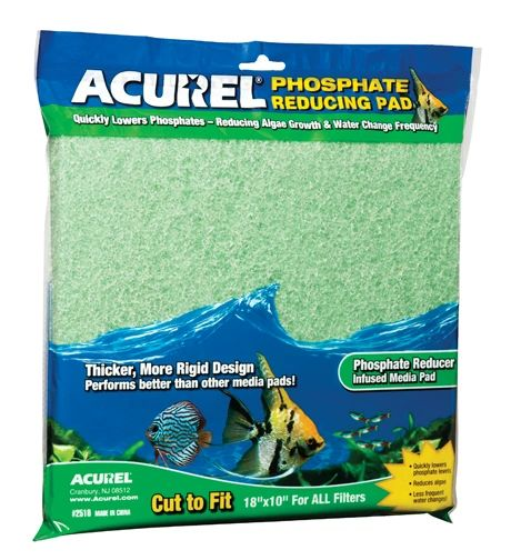 Acurel Infused Media Pads Phosphate-Reducing