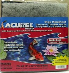 Acurel Coarse Poly and Carbon-Infused Pads ACU560