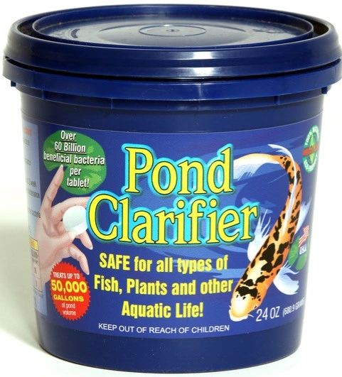 Microbial Science Laboratories Pond Clarifier Tabs 10-Pack Pail MSL84