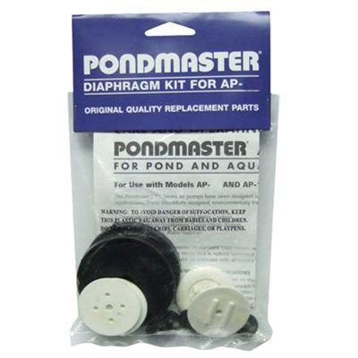 Replacement Parts for Pondmaster Air Pumps, Manifolds, Diaphragm Kits.