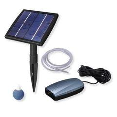 Beckett Solar Powered Air Pump 7217010