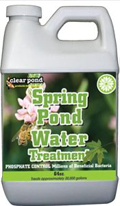 Clear Pond Spring Pond Water Treatment - 1/2 Gal. CLP74
