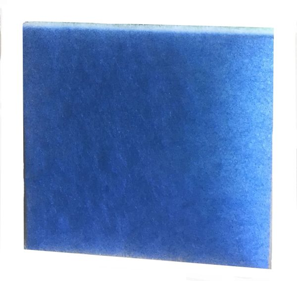 28 inch Wide Filter Media Blue/White 1 inch FLO2839