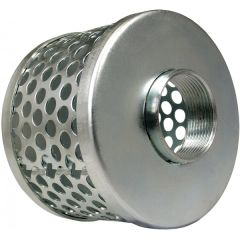 Stainless Steel Basket Suction Strainers