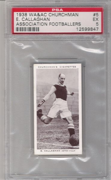 1938 E. Callaghan Churchman Association Footballers