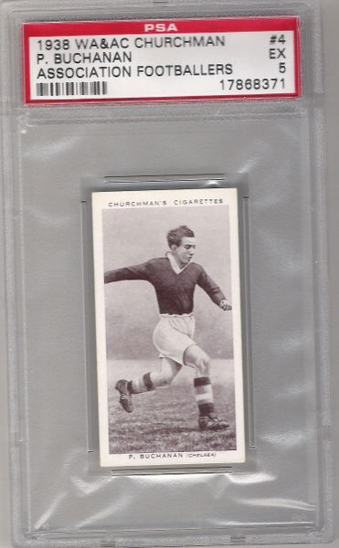 1938 P. Buchanan #4 Churchman Footballers