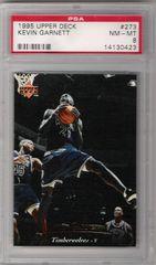 1995 Kevin Garnett UD #273 PSA 8