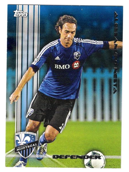 2013 Alessandro Nesta Topps Blue #13 of 50