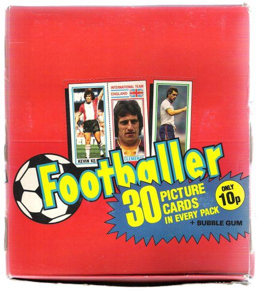 1981Topps Wax Box U.K. unopened