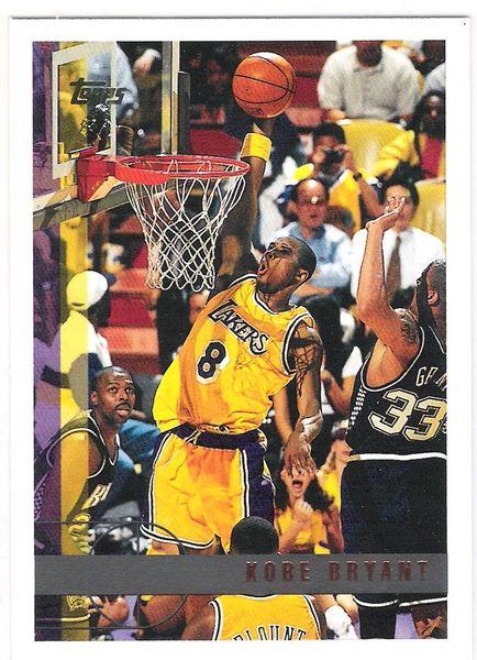 1997-98 Kobe Bryant Topps 2nd year card