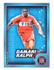 2004 Damani Ralph Nabisco Candystand MLS Card