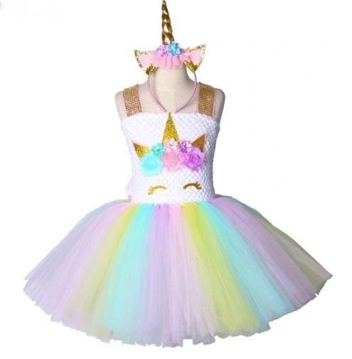 545f5fa8db Unicorn Princess Tutu Dress Set