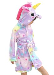 Unicorn Plush Bathrobe
