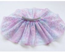 Sequin Mermaid Tutu Skirt