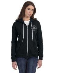 Action Anvil Ladies' Full-Zip Hooded Fleece