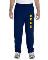 NEES Navy Sweatpants Youth and Adult