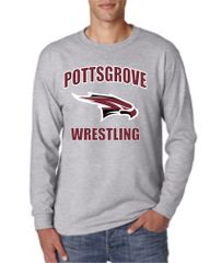 Dark Grey Long Sleeve Youth and Adult