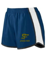 SF Womens Navy Shorts Youth and Adult