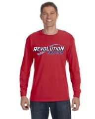 Revolution Red long sleeve youth and adult