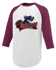 PLL Baseball tee youth and adult